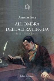All'ombra dell'altra lingua - copertina