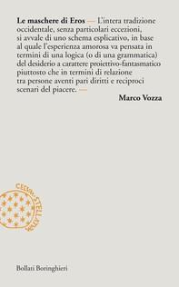 Le maschere di Eros - Librerie.coop
