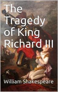 The Tragedy of King Richard III - copertina