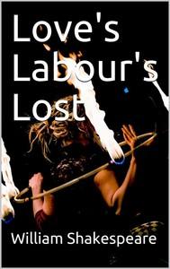 Love's Labour's Lost - copertina