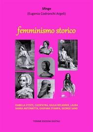 Femminismo storico - copertina