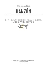 Danzón for 4 parts (flexible arrangements) and Rhythm Section - Librerie.coop
