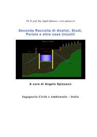 Seconda Raccolta di Analisi, Studi, Perizie e altre cose (in)utili - copertina
