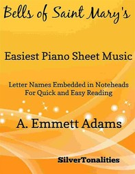 Bells of Saint Mary's Easiest Piano Sheet Music - Librerie.coop