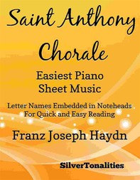 Saint Anthony Chorale Easiest Piano Sheet Music - Librerie.coop