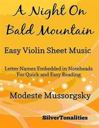 A Night on Bald Mountain Easy Violin Sheet Music - Librerie.coop