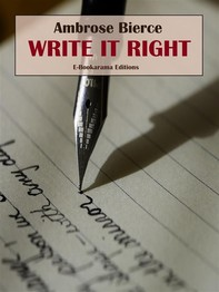 Write It Right - Librerie.coop