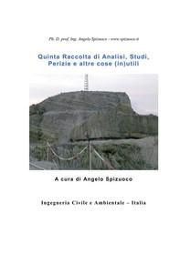 Quinta Raccolta di Analisi, Studi, Perizie e altre cose (in)utili - Librerie.coop