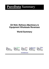 Oil Well, Refinery Machinery & Equipment Wholesale Revenues World Summary - Librerie.coop