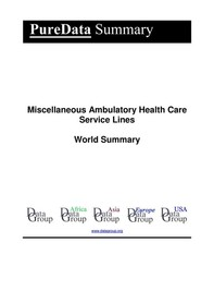 Miscellaneous Ambulatory Health Care Service Lines World Summary - Librerie.coop