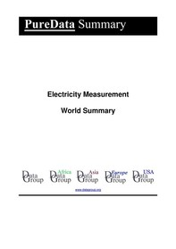 Electricity Measurement World Summary - Librerie.coop