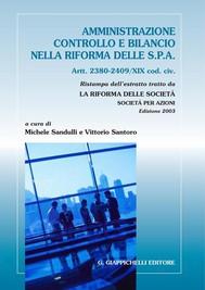 Amministrazione, controllo e bilancio nella riforma delle S.p.a. - copertina