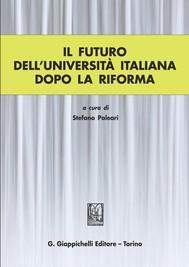 Il futuro dell'universita' italiana dopo la Riforma - copertina