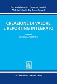 Creazione di valore e reporting integrato - copertina