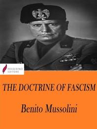 The Doctrine of Fascism - Librerie.coop