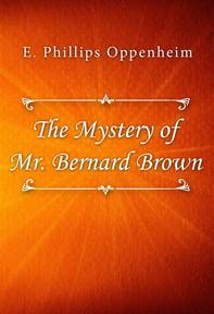 The Mystery of Mr. Bernard Brown - Librerie.coop