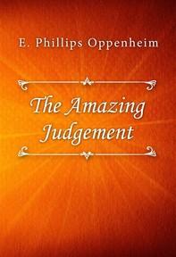 The Amazing Judgement - Librerie.coop