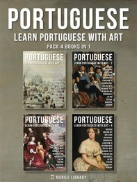 Pack 4 Books in 1 - Portuguese - Learn Portuguese with Art - Librerie.coop