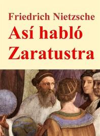 Así habló Zaratustra - Librerie.coop