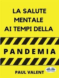 La Salute Mentale Ai Tempi Della Pandemia - Librerie.coop