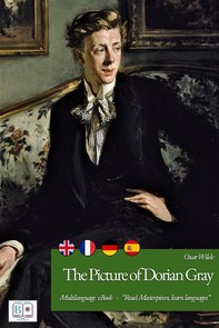 The Picture of Dorian Gray (English + French + Spanish + German Interactive Version) - Librerie.coop