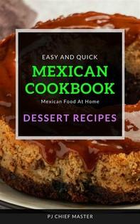 Mexican Cookbook Dessert Recipes - Librerie.coop