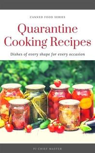 Quarantine Cooking Recipes - Librerie.coop