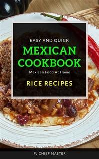 Mexican Cookbook Rice Recipes - Librerie.coop