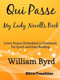 Qui Passe My Lady Nevells Book Easy Piano Sheet Music - Librerie.coop
