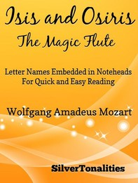 Isis and Osiris the Magic Flute Easy Piano Sheet Music - Librerie.coop