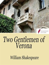 The Two Gentlemen of Verona - Librerie.coop