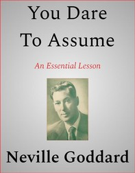 You Dare To Assume - Librerie.coop