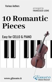 10 Romantic Pieces - Easy for Cello and Piano - Librerie.coop