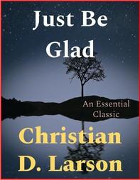 Just Be Glad - Librerie.coop