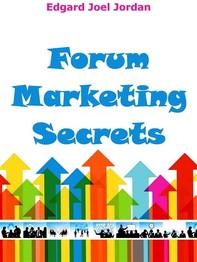 Forum Marketing Secrets - Librerie.coop