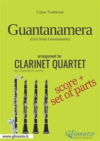 Guantanamera - Clarinet Quartet score & parts - Librerie.coop