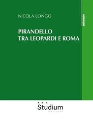 Pirandello tra Leopardi e Roma - copertina