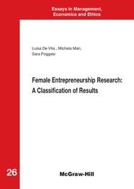 Female Entrepreneurship Research: A Classification of Results - copertina