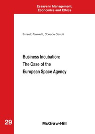 Business Incubation: The Case of the European Space Agency - copertina