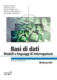 Basi di dati - Modelli e linguaggi di interrogazione 4/ed - copertina