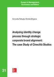 Analyzing identity change process through strategic corporate brand alignment: The case Study of Cinecittà Studios - copertina