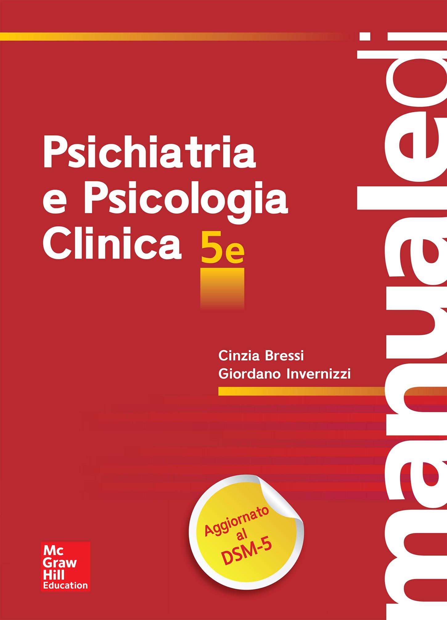 Manuale Di Psichiatria E Psicologia Clinica 5  Ed  Cinzia