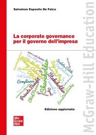 La corporate governance per il governo dell'impresa - Librerie.coop