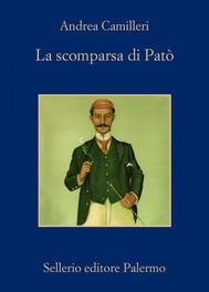 La scomparsa di Patò - copertina