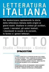 TUTTO Letteratura italiana - copertina