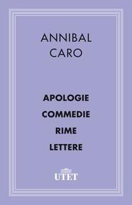 Apologia/Commedie/Rime/Lettere - copertina