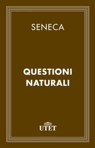 Questioni naturali - copertina