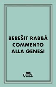 Bereyit Rabba. Commento alla Genesi - copertina
