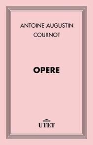 Cournot. Opere - copertina