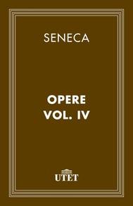 Opere. Vol. IV - copertina